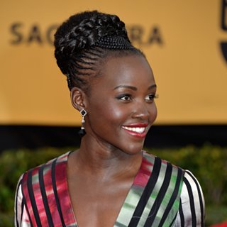 Lupita Nyong'o Hair and Mak