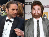 Zach Galifianakis Shows Off a Slimmer Look, Debuts Man Bun at SAG Awards