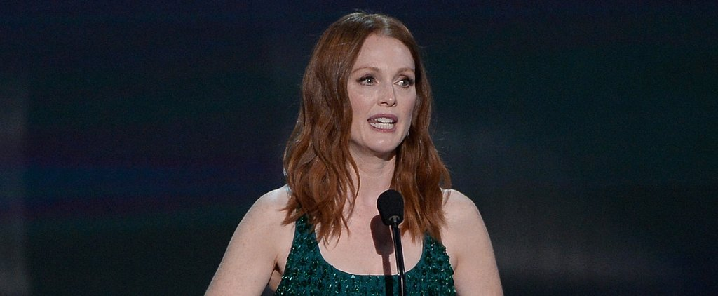 Julianne Moore Gave a Shout-Out to Her Soap Opera Days