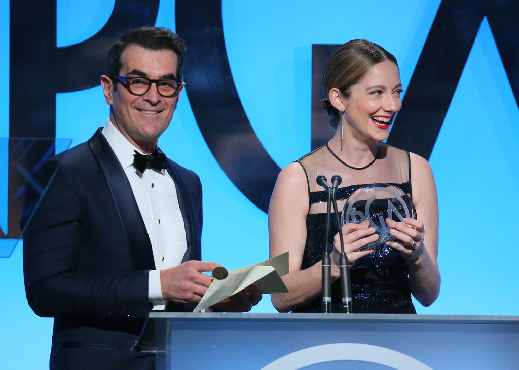 Ty Burrell and Judy Greer