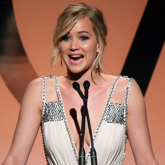 Jennifer Lawrence at the 2015 Producers Guild Awards