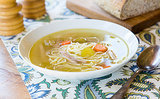 Chicken Noodle Soup for Your Snow Day