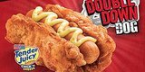 Double Down Hot Dogs Exist. Yes, KFC Has Actually Gone There.