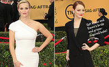 2015 SAG Awards: See Reese Witherspoon, Emma Stone and Other Celebs's Wedding-Inspired Looks!
