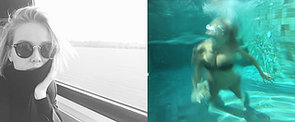 Lara Bingle Worthington's Underwater Instagram Photos Keep Everyone Guessing
