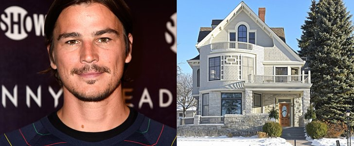 You Will Crush Hard on Josh Hartnett's Victorian Mansion