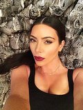 Kim Kardashian's New Selfie PSA Makes Us Love Her a Little More
