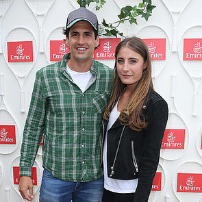 Andy Lee With Girlfriend Rebecca Harding at Australian Open
