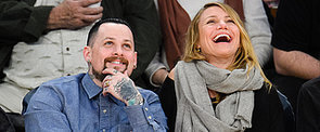 Cameron Diaz and Benji Madden Totally Got Caught on the Kiss Cam!