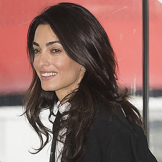 Amal Clooney in Court in Strasbourg January 2