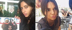 Kardashian Makeup-Free Selfies That Will Inspire You to Go Bare