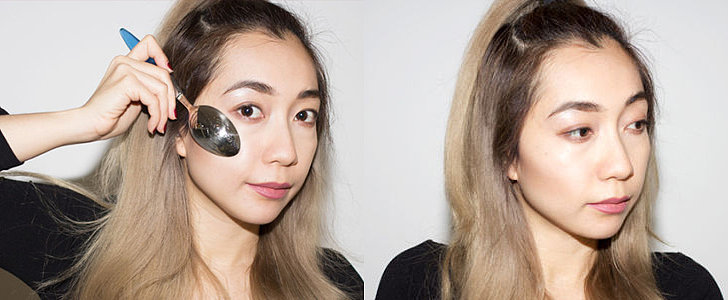 How to Contour Your Face With a Spoon