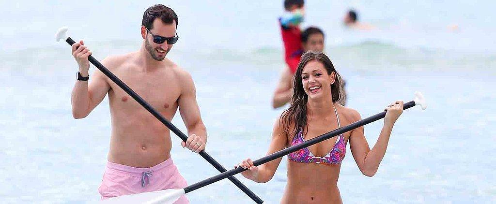 Bachelorette Newlyweds Desiree and Chris Look Hot on Their Honeymoon