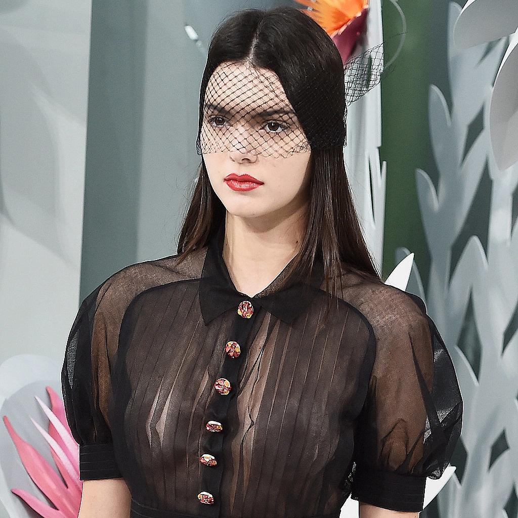 Kendall Jenner Fashion Week Spring 15 Popsugar Fashion