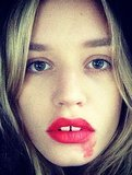 Why Smeared Lipstick #Selfies Are About to Be ALL Over Your Instagram
