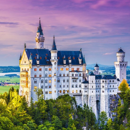 Real Life Disney Princess Castles