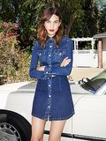 13 Denim Dresses Alexa Chung Would Totally Wear