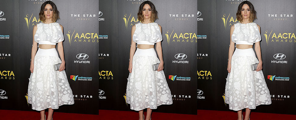 Let's Take a Closer Look at Rose Byrne's Incredible Maticevski Two-Piece