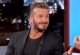 "David Beckham: My Daughter Harper Says I'm ""So Chubby"" Now"