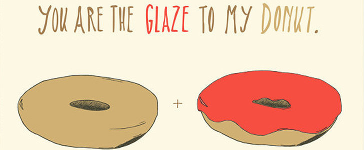 20 Food-Themed Valentines to Give to Your Sweetheart