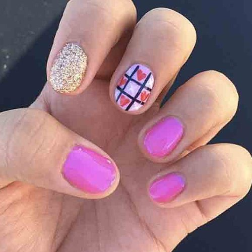 Best valentine 39 s day nail art of instagram popsugar beauty for 24 hour nail salon queens ny