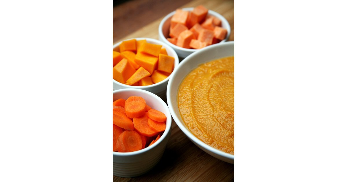 Squash, Sweet Potato, Carrot, and White Bean Soup | 18 Healthy Slow ...