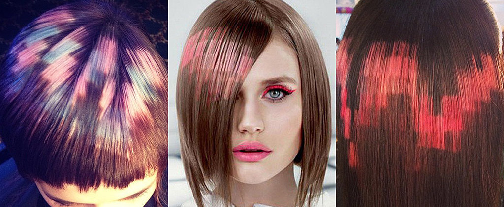 Pixel Hair Colour Is Trending and We Know Why