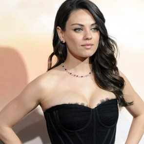 Mila Kunis Dress at Jupiter Ascending Premiere