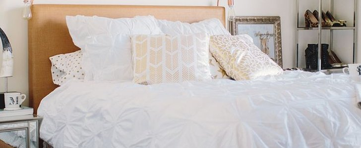 Lazy Gals, Rejoice! How to Make a Bed While You're Still in It