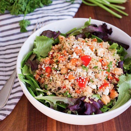 Quinoa Chickpea Salad RecipeQuinoa Chickpea Salad Recipes