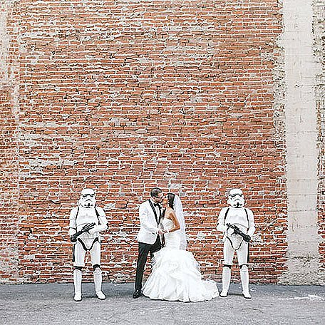 What an Epic Star Wars Wedding Looks Like