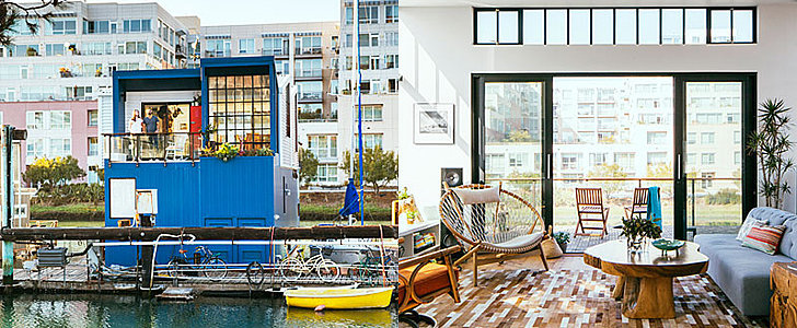 How This Family Turned an Old Boat Into a Home