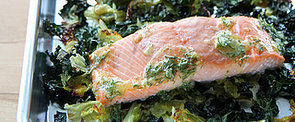Salmon With Crispy Cabbage and Kale Is a 1-Pan Wonder