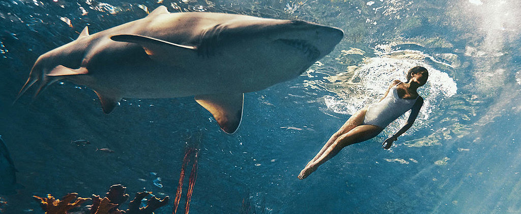 Rihanna Swims With Sharks For a Dangerously Sexy Photo Shoot