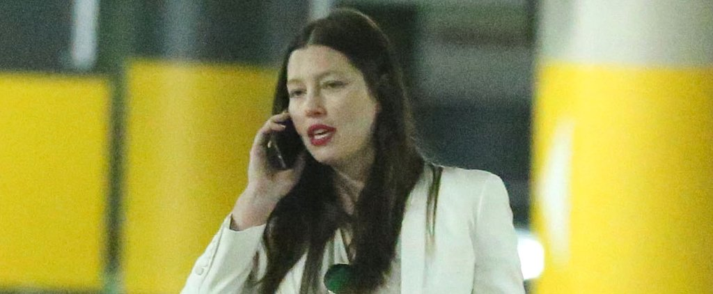 Jessica Biel Shows Off Her Growing Baby Bump While Celebrating a Big Venture