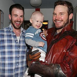 Chris Pratt and Chris Evans at Christopher's Haven