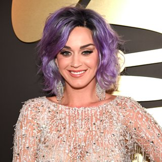 Katy Perry's Purple Lob at the Grammys 2015