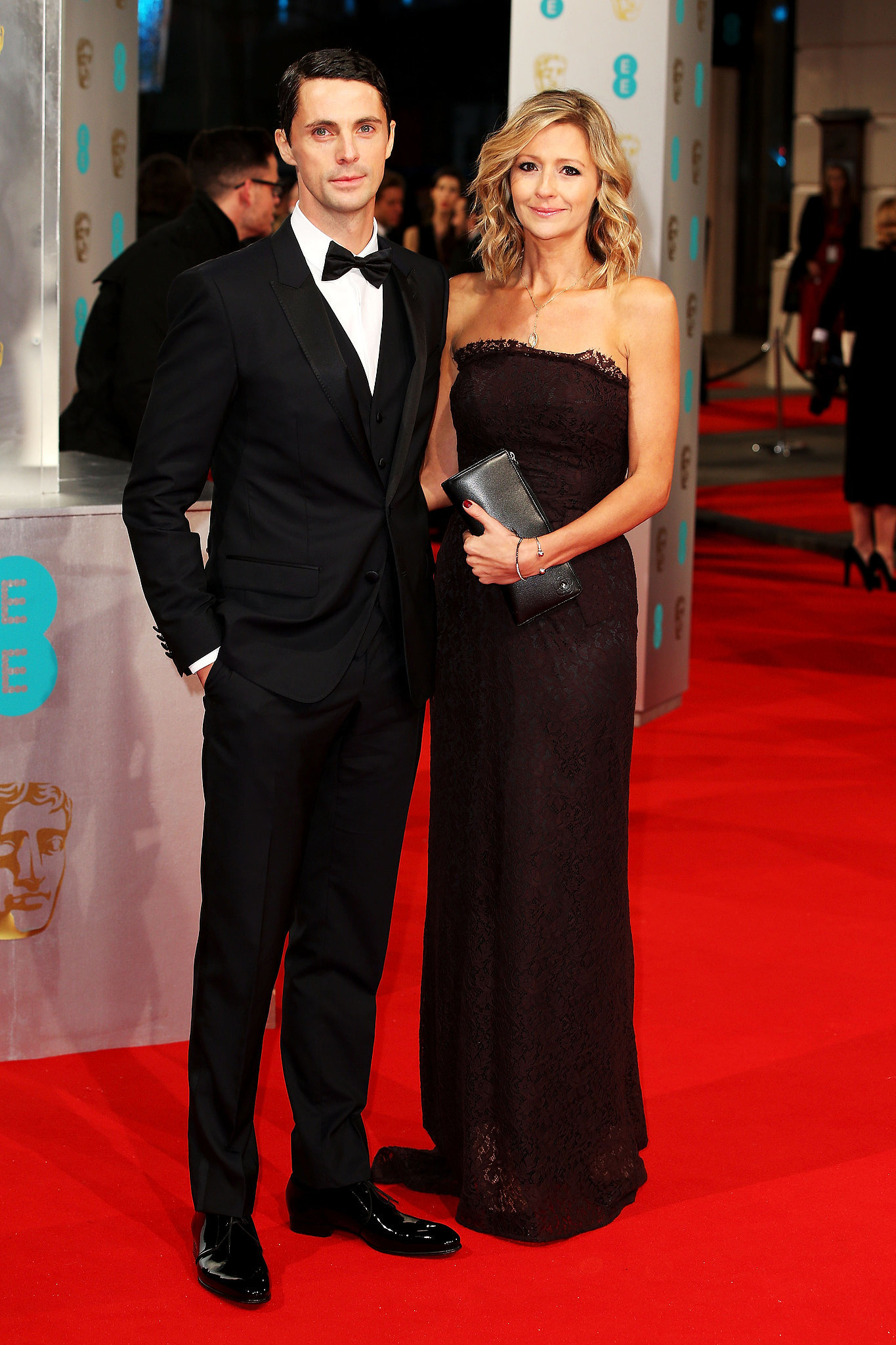 Matthew Goode and Sophie Dymoke | Stars Go All Out on the BAFTA Awards ...