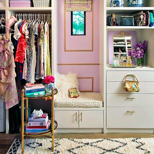 Glamorous Closet Makeover