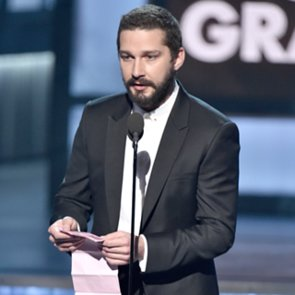 What Was Shia LaBeouf Reading at the Grammys?