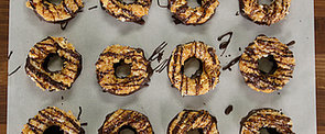 Homemade Girl Scout Cookies: Samoas Edition