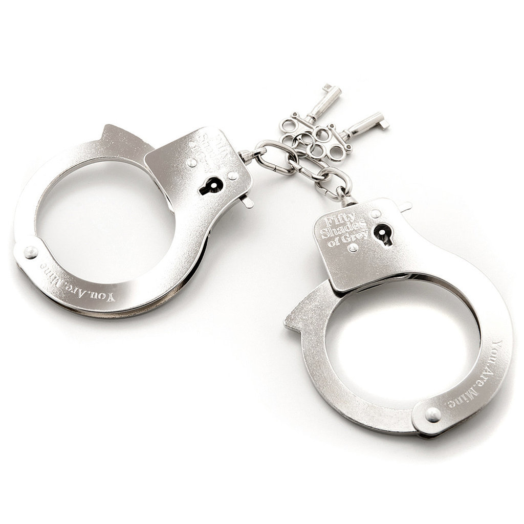 You. Are. Mine. Metal Handcuffs ($23)