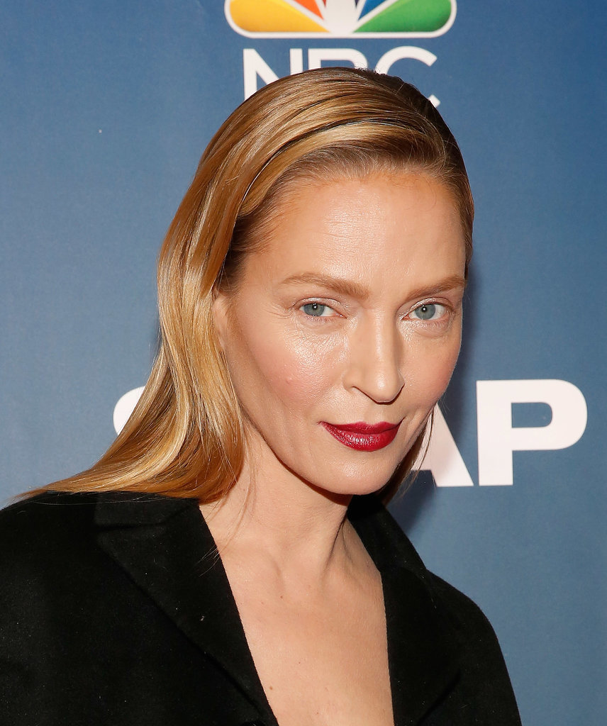 Uma Thurman Looks Different | POPSUGAR Beauty Uma Thurman