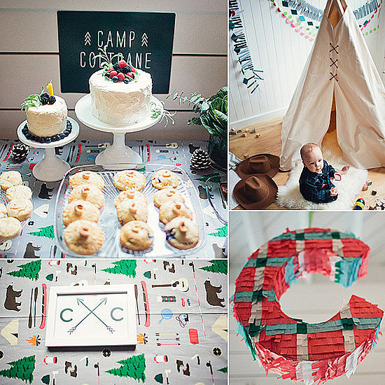 Modern Camp-Inspired First Birthday