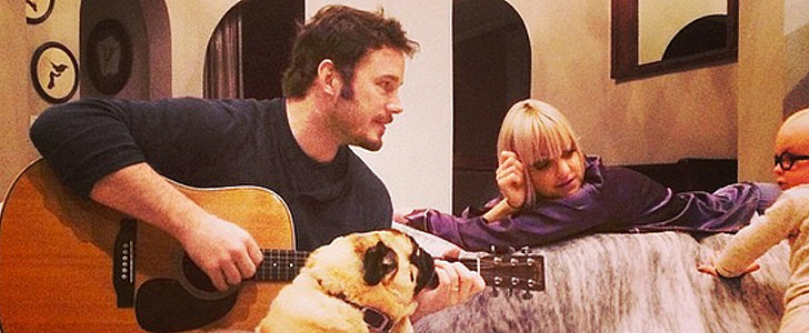 Anna Faris and Chris Pratt's Sweet Family Photo Will Make You Melt
