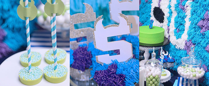 Monsters University Birthday Bash and Party