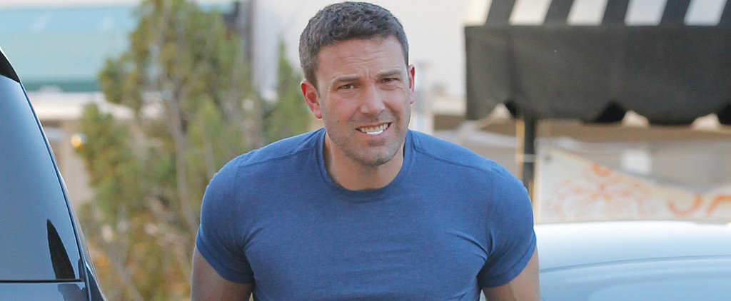 Ben Affleck's Muscles Seriously Might Break Through His T-Shirt