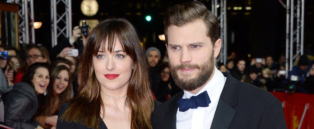 Jamie Is a Gentleman With Dakota — and His Wife! — on the Red Carpet