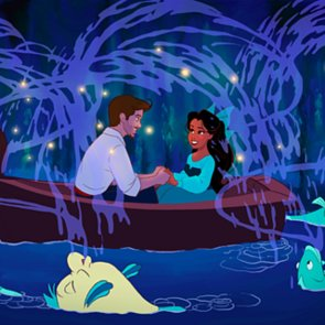 Guy Turns Girlfriend Into Disney Art