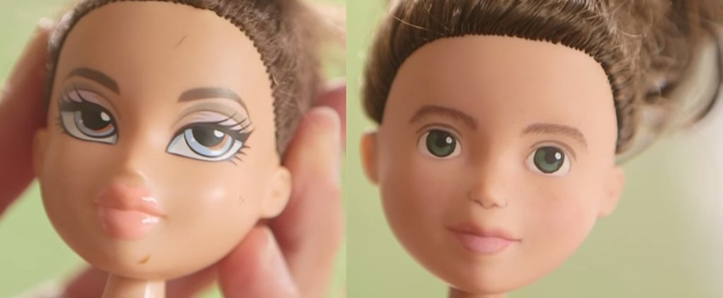 Without Makeup, Bratz Dolls Actually Look Like Little Girls
